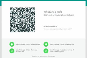 WhatsApp Web e suas pequenas atualizações