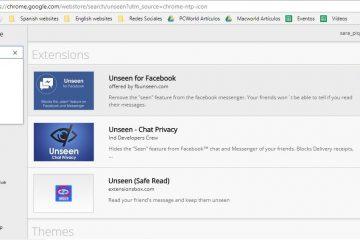 """Como desativar o """"visto"""" nas mensagens do Facebook"""