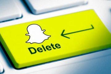 Como excluir uma conta do Snapchat