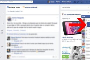 Ocultar / remover última conexão no Facebook Messenger