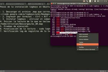 Como instalar o Linux Keylogger?