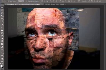 Como mesclar imagens no Photoshop CS6?