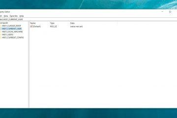 Que função possui o registro do Windows?