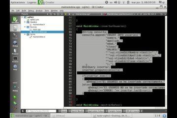 Tudo sobre programação QT e banco de dados SQLite