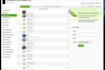 Como gerenciar meu Android Mobile com SnapPea?