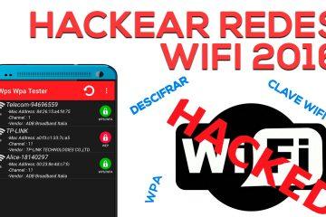 Aplicativos para hackear redes WiFi 2017