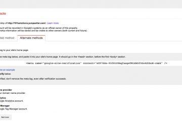 Como posicionar um site com meta tags no Google?
