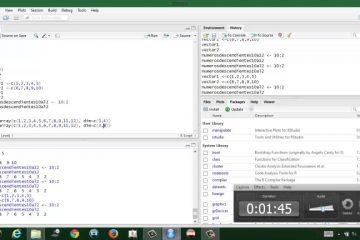 Aprenda programação estatística com R