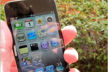 Como ajustar o brilho do seu iPod Touch?
