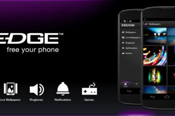 Com o Zedge, você pode personalizar seu telefone da maneira mais original