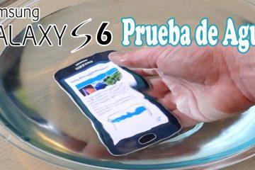 O Samsung Galaxy S6 é resistente à água?