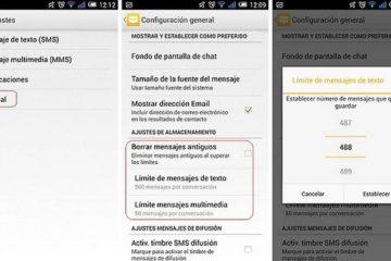Como limpar o SMS para liberar memória facilmente?