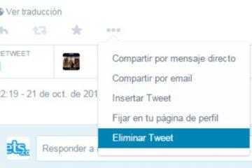 Como excluir / excluir tweets no Twitter? Rápido e fácil
