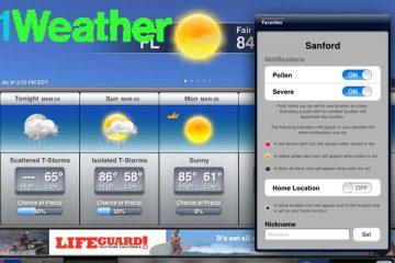 1Weather: Aplicativo para verificar o tempo cheio de funções