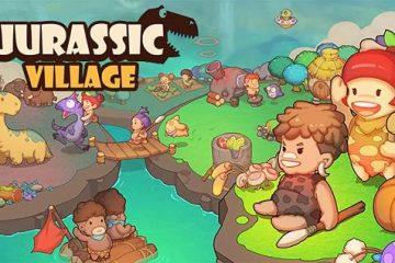 Jurassic Village para Android. Sobreviver em um mundo de dinossauros