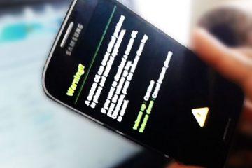 Samsung mobile desliga apenas Como corrigi-lo?