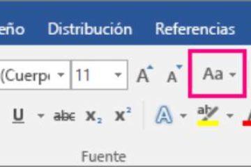 Como alterar maiúsculas para minúsculas no Word? [ Muito fácil ]