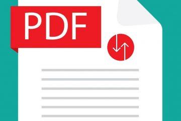 Como alterar a ordem das páginas em um PDF?