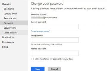 Como alterar sua senha no Hotmail sem complicações?