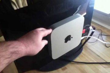 Como conectar um Mac Mini à minha TV com HDMI?