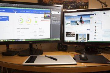 Como conectar um monitor ou monitor externo a um laptop / PC?