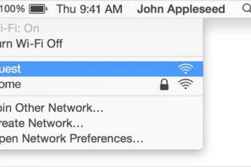 Meu Mac NÃO se conecta à Internet Como conectar-me a uma rede Wi-Fi com o Mac?