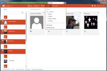 Como criar grupos do Hotmail / Outlook? Em alguns minutos