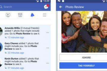 Como desativar o reconhecimento de rosto do Facebook?