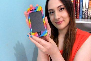 Como pintar um telefone fácil e rápido