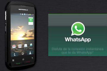 Como fazer baixar WhatsApp gratuitamente para Motorola Blur