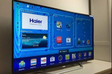 Os pedidos de Haier Smart TV