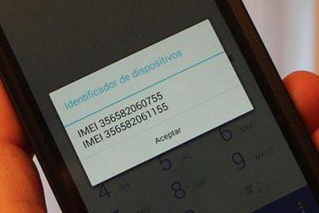 Por que meu telefone tem dois números IMEI?