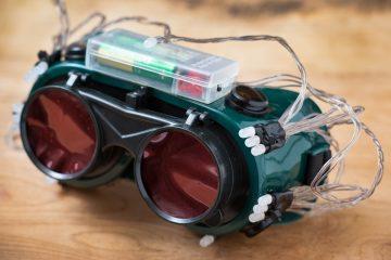Como fazer óculos de visão noturna caseiros