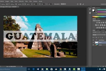 Como fazer efeito de texto transparente no Photoshop? Fácil e Rápido