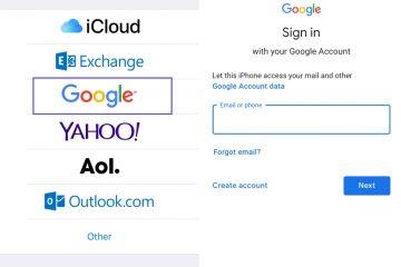 Como transferir contatos do Gmail (Android) para o iCloud (iOS)?
