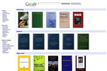 Como imprimir o Google Book Books?