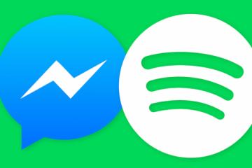 Crie uma lista de reprodução de compartilhamento do Spotify no Facebook Messenger