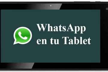 Baixar WhatsApp grátis para tablet Android