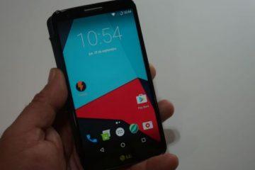 Guia para instalar o Android Nougat no LG G4 e LG G4 H815 [Rápido e Fácil]