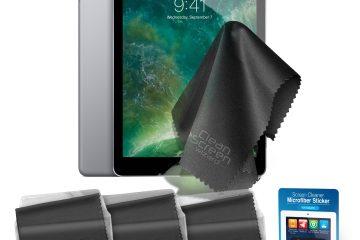Como limpar a tela de um iPad?