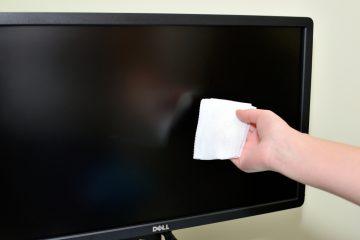 Como limpar um monitor LCD facilmente?