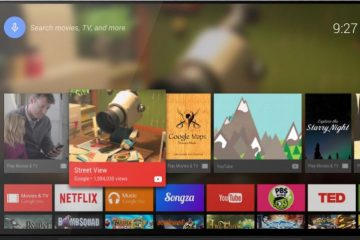 Guia tutorial para tirar capturas de tela na Android TV