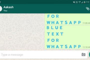 Como escrever texto colorido no Whatsapp?