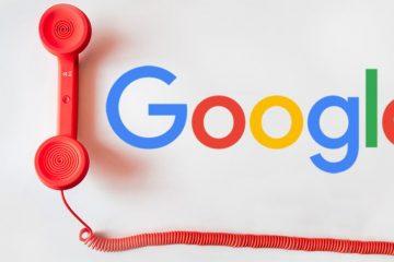 Como entrar em contato com o Google?