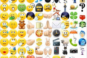 Como estão os Emoticons ocultos do Skype?
