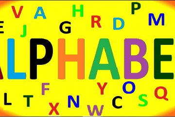 Como aprender o alfabeto em inglês nesses lugares fantásticos
