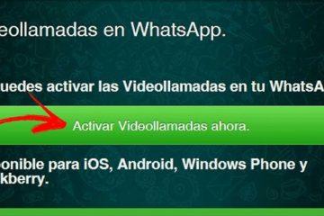 Como atualizar e ativar as videochamadas no Whatsapp Messenger? Guia passo a passo