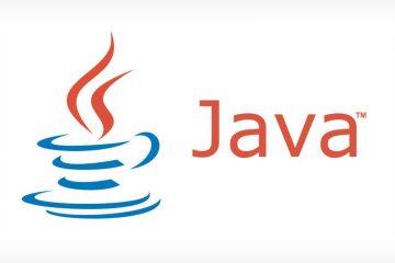 Atualize o Java, faça o download da versão mais recente