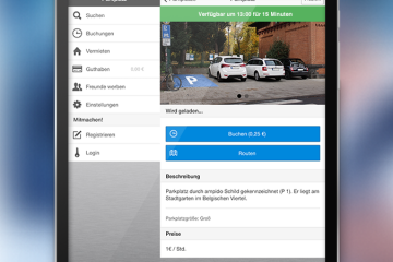 Baixe Ampido para Android. Encontre estacionamento facilmente