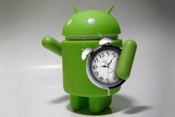 Coloque uma música de alarme no Android
